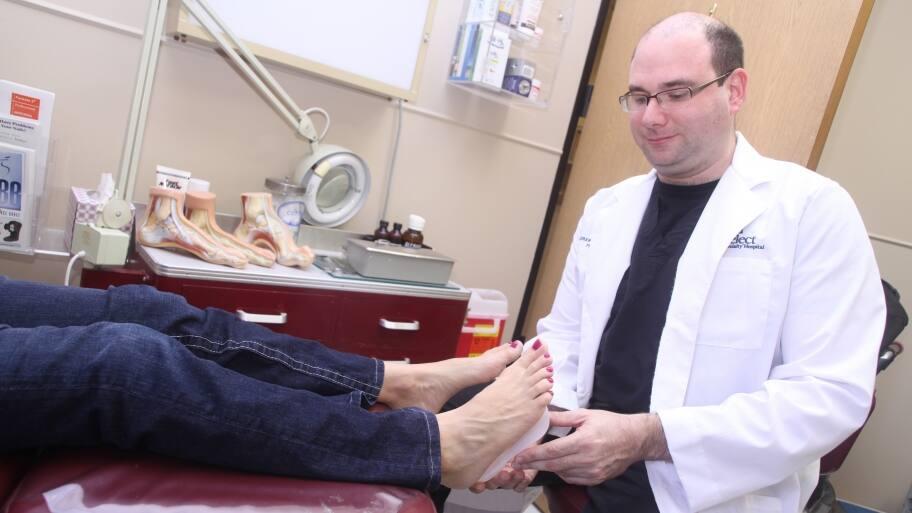 orthotics examination