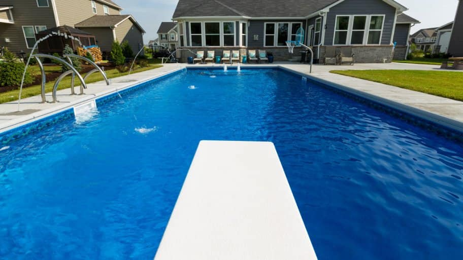 A Pool With A Failing Finish Needs To Be Resurfaced, Which Includes  Chipping Out The Damaged Material, Applying New Finish And Acid Washing The  Poolu0027s ...