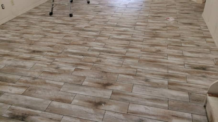 Pros And Cons Of White Marble Tile Porcelain tile floor that looks like hardwood