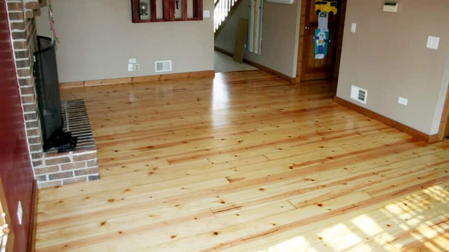 Refinishing Pine Hardwood Flooring