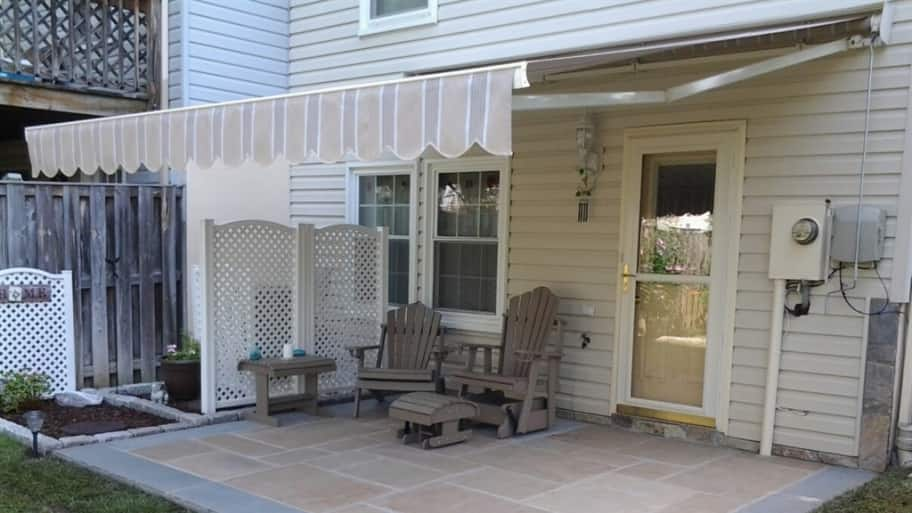 the pros and cons of retractable deck awnings angies list