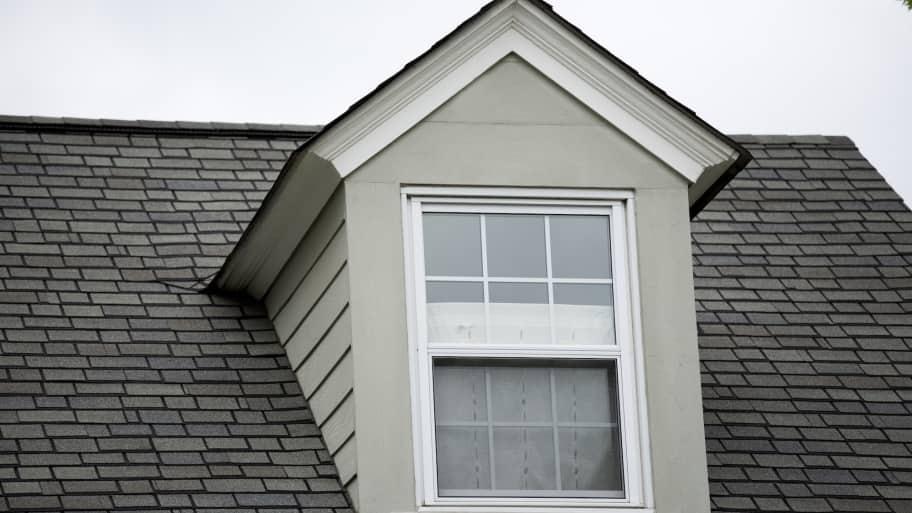 roof dormer with window