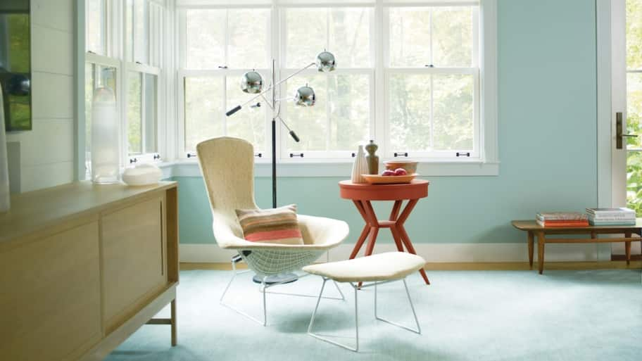 ... Popular Interior Paint Colors. Room Painted Wythe Blue
