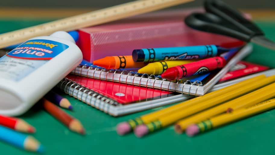 school supplies (Photo by Brandon Smith)
