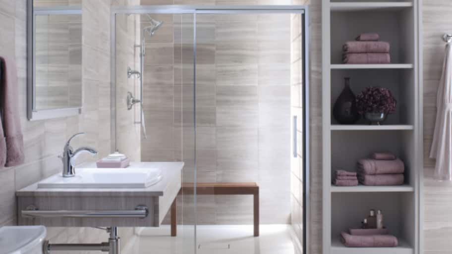 Pros and Cons of Frameless Shower Doors | Angie's List Just Glas Bathroom Shower Designs Without Doors on huge bathroom designs, compact bathroom shower designs, small bathroom with tub and shower designs, awesome bathroom designs, doorless showers small bathroom designs, spanish mediterranean bathroom designs, master bathroom shower designs, bathroom glass door designs,