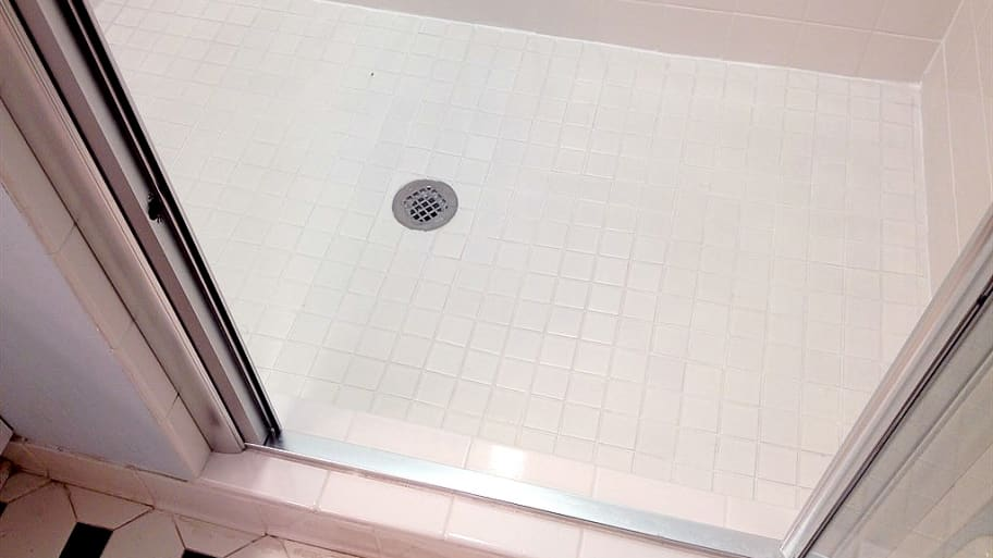 Grout And Ceramic Tile Shower Floor