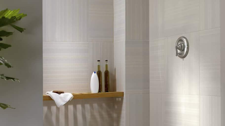 shelf in shower