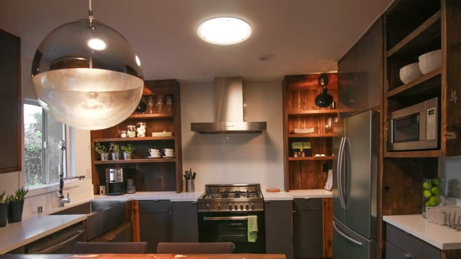 Tips to make your kitchen appear larger angies list