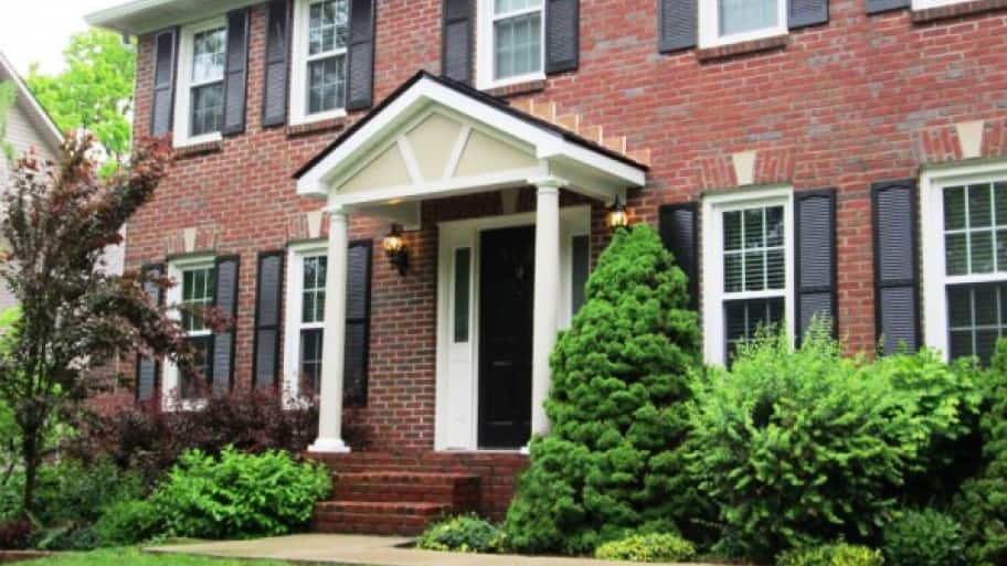 Add A Portico To Your Front Door For Class And Functionality - Colonial portico front entrance