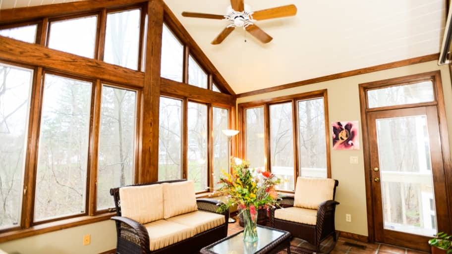 3 ways to let more sunlight through your windows angie 39 s for Large windows for sunroom