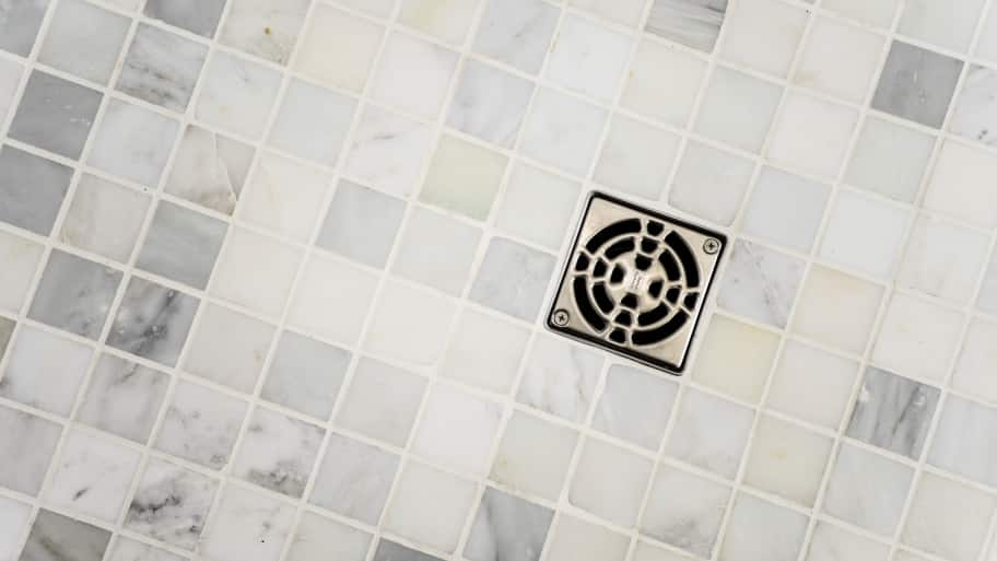tile shower drain
