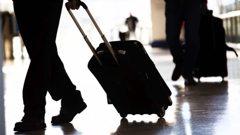research to see which airlines check bags for free