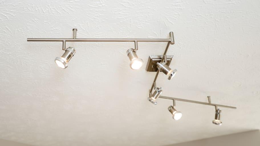 Track Lighting On Bathroom Ceiling