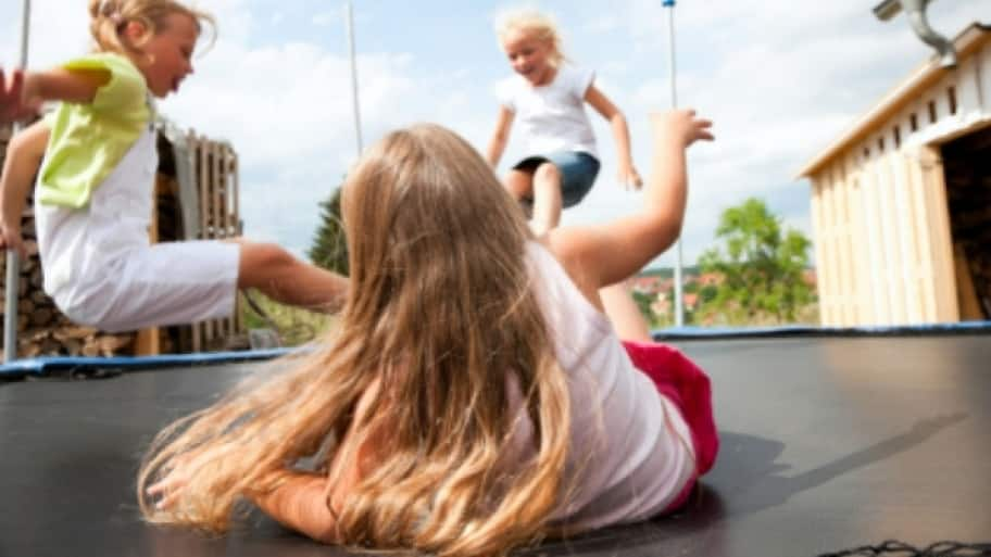 The most important thing when it comes to trampolines is to be aware of the risks and the safety guidelines to minimize your child's risk for injuries, says Jacobs. (Photo by The San Antonio Orthopaedic Group)
