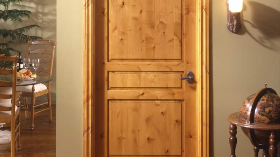 TruStile Doors knotty alder interior door