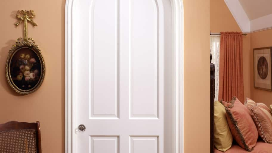 wood doors and trim can be painted or stained if properly prepped. Black Bedroom Furniture Sets. Home Design Ideas