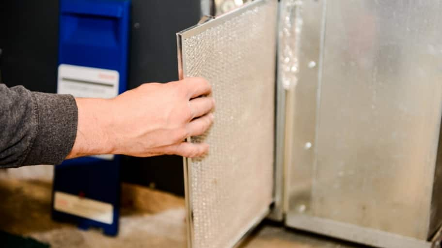 Washable HVAC filter