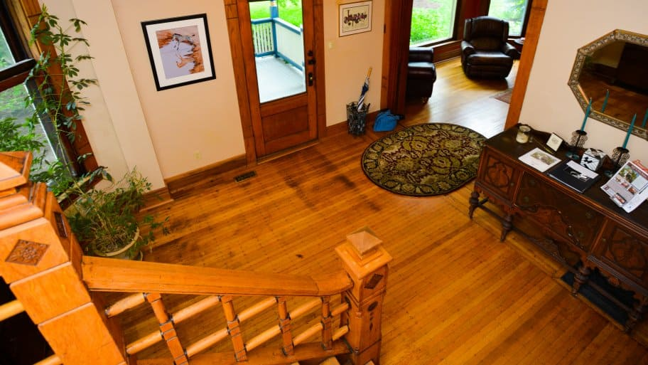 Wax Application Hardwood Flooring