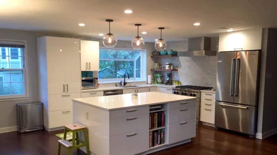 White Kitchen Cabinet Open 5 diy kitchen cabinet upgrade ideas | angie's list