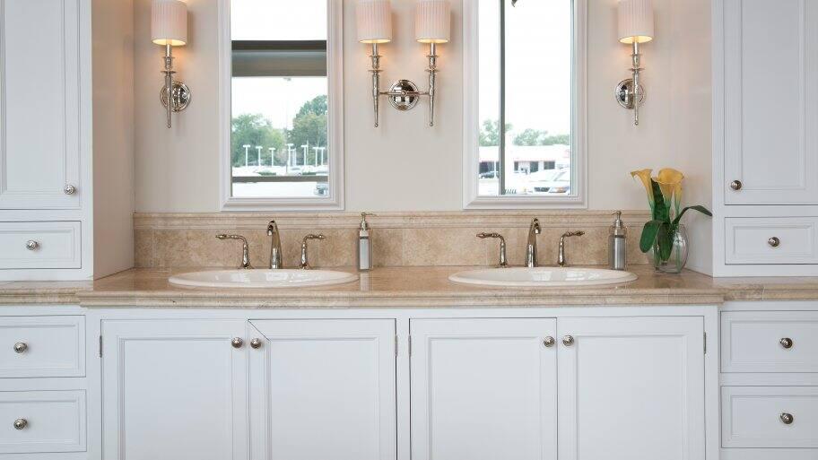 Bathroom Vanity Repair can i repair a water-damaged bathroom vanity? | angie's list