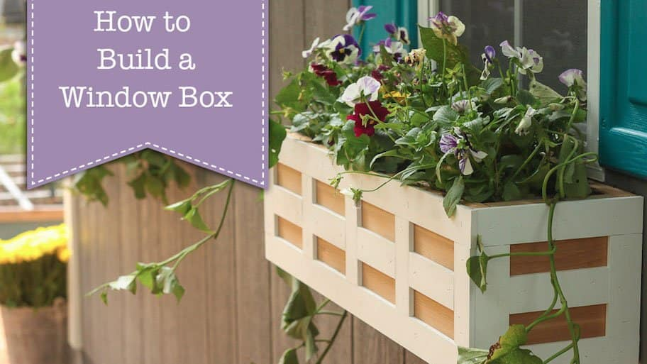 How To Build A Diy Window Box Planter Angie S List