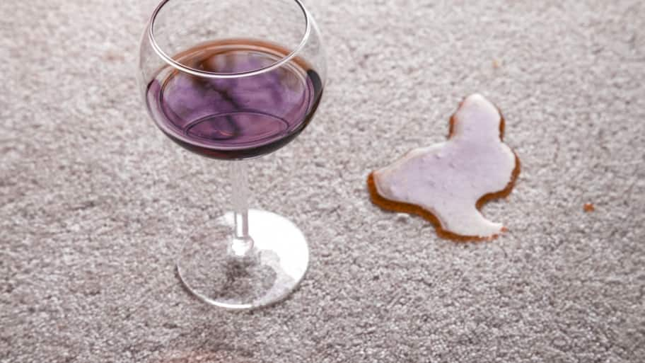 Wine Spill On Carpet