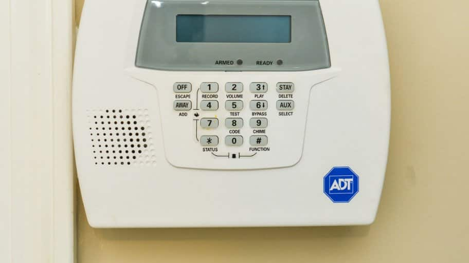 Home security panel