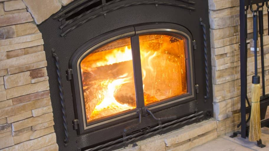 how to convert a gas fireplace to wood burning angie s list rh angieslist com gas wood burning fireplace insert gas wood burning fireplace