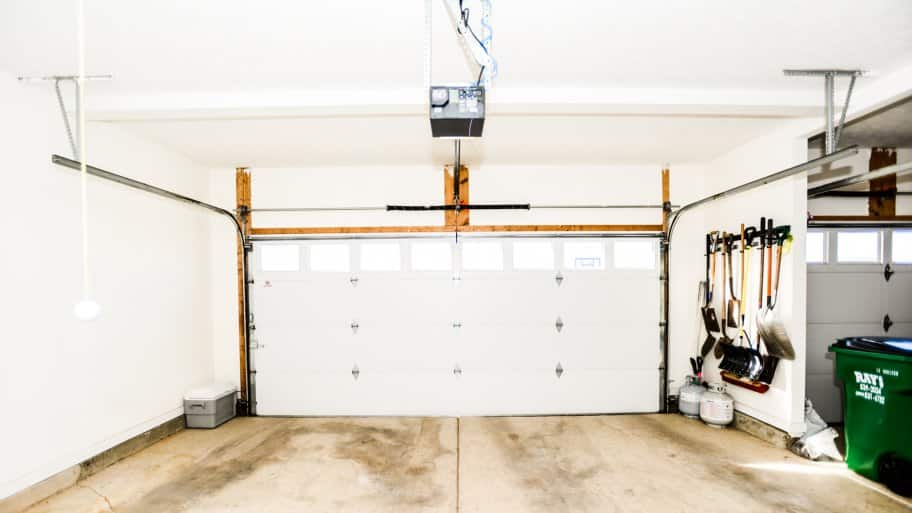 Inside Of A Garage. A Garage Door Opener That Wonu0027t Open With The Remote ...