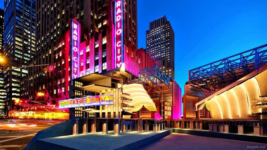 Radio City Music Hall Cutaway