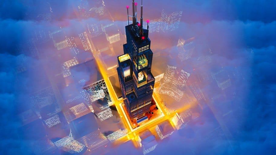 Willis Tower Cutaway