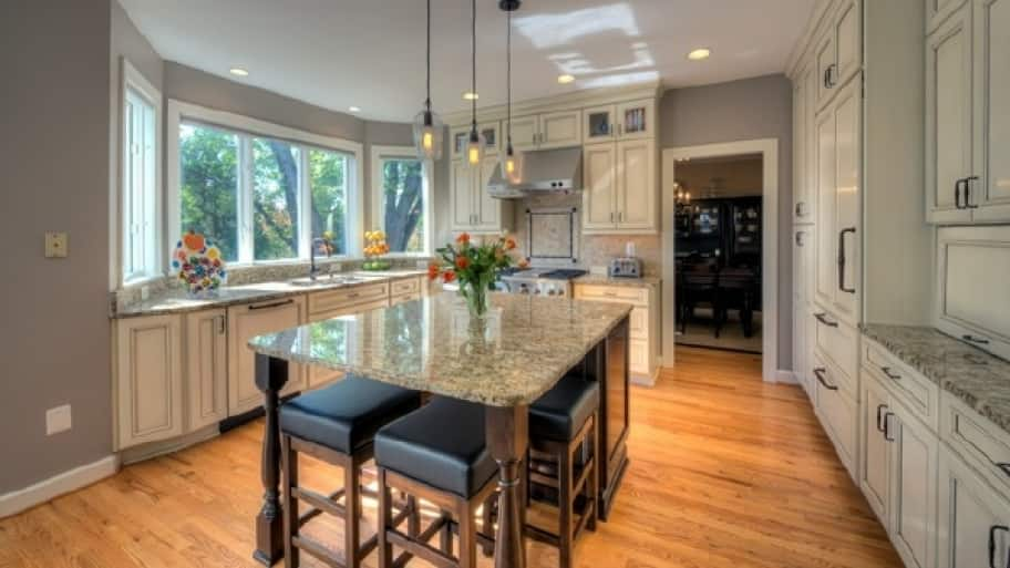 With The Right Seating, A Kitchen Island Can Serve As Your Kitchen Table.  Remove