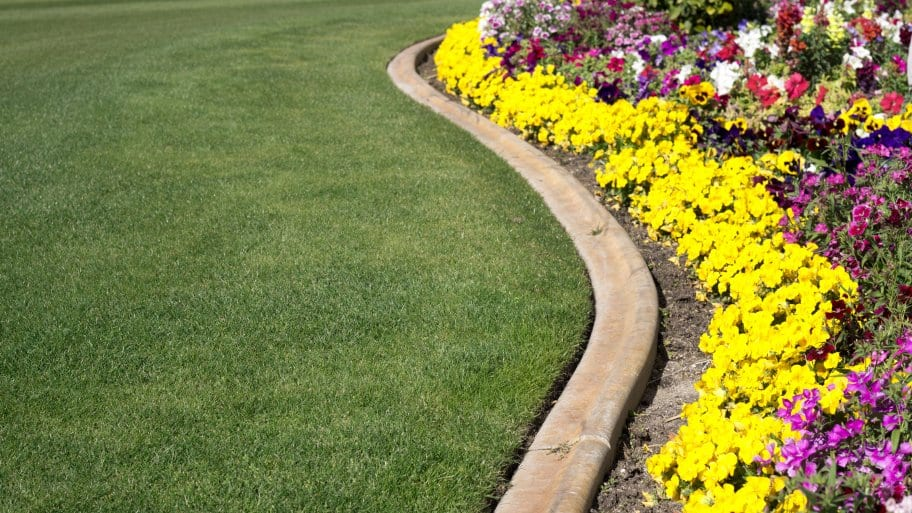 Edging your gardens can give your landscape a neat, finished look. (Photo courtesy of Getty Images)