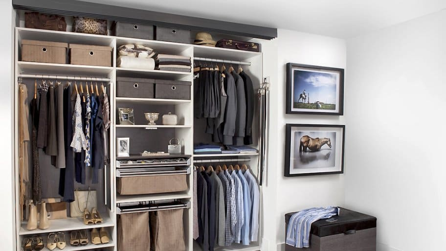 Closet organization ideas for any space angie 39 s list for Transform small closet space