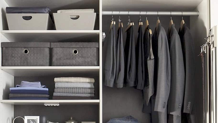 Any Small Closet Can Become Efficient With Some Smart Organizing. (Photo  Courtesy Of Samantha