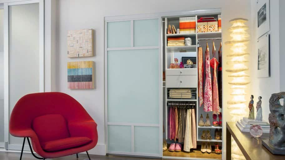 Small closets have a habit of getting messy quickly photo courtesy of samantha hochman transform home
