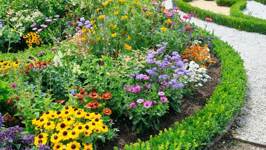 Wonderful 8 Ideas For Perennial Garden Plans