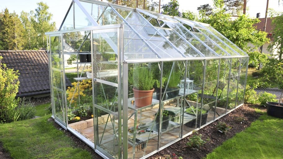 Adding a greenhouse can be costly but beautiful. (Photo courtesy of Antema)