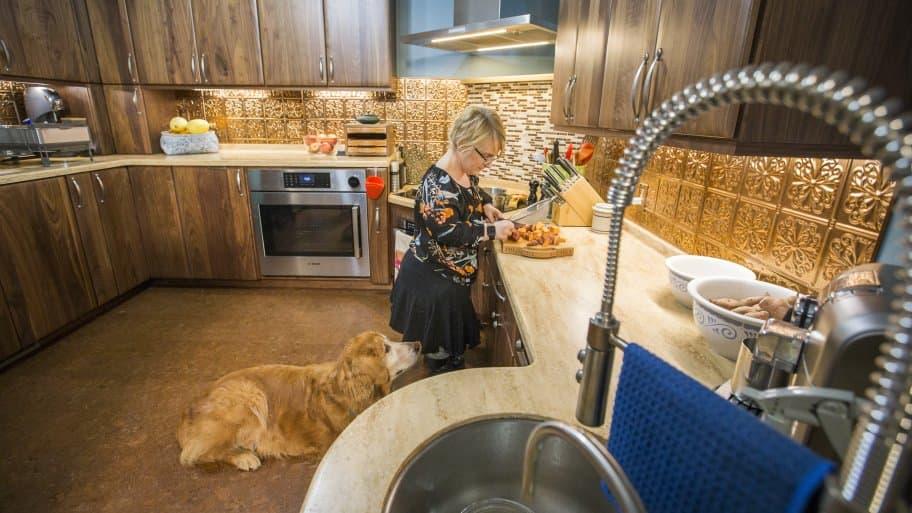 universal design kitchen remodel. Universal Design Kitchen Remodel Renews Foodie s Joy of Cooking