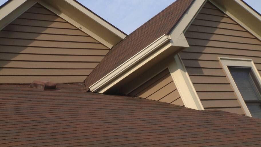 New Asphalt Shingle Roof In Red