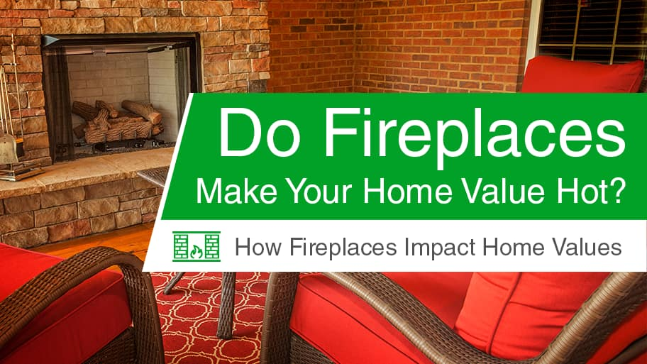 cozy setting around brick and stone fireplace