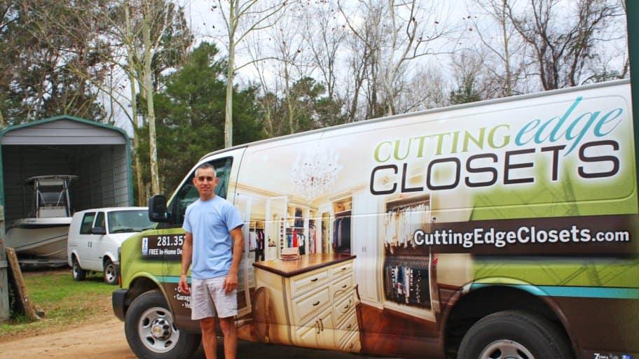 Mark Holdsworth Is President Of Cutting Edge Closets. (Photo Courtesy Of Cutting  Edge Closets)