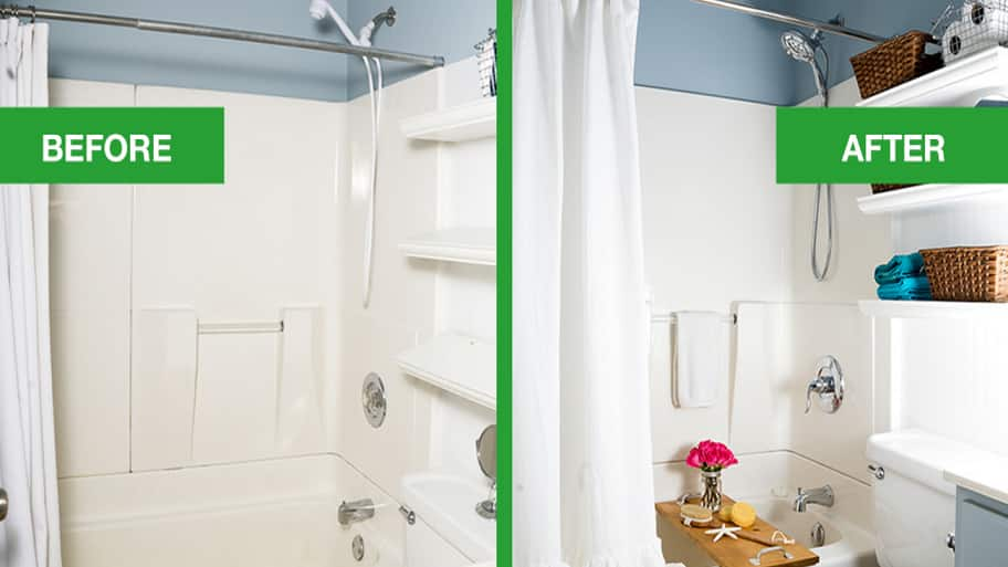 before and after shower remodel - Steps To Remodeling A Bathroom