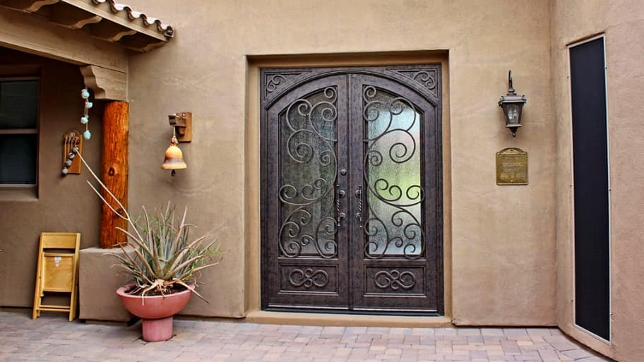 Bristol Arched Iron Security Door