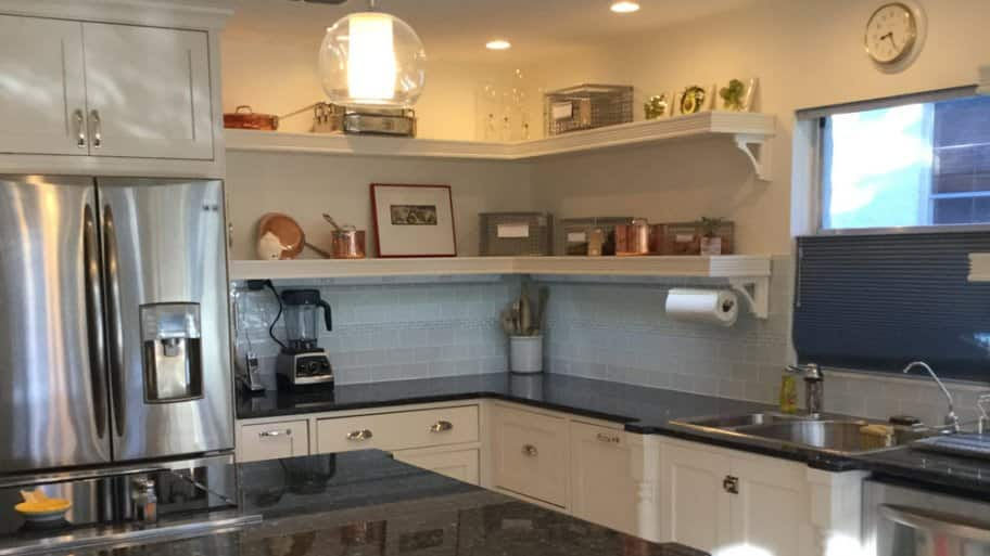 Every detail of this kitchen remodel was carefully planned, taking into consideration mobility concerns. (Photo courtesy of Angie's List member Jeanette Buckles of Tampa, Florida)