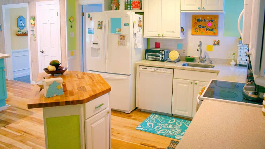 Butcher Block Kitchen Island Pros And Cons : How Much Do Butcher Block Countertops Cost? Angie's List
