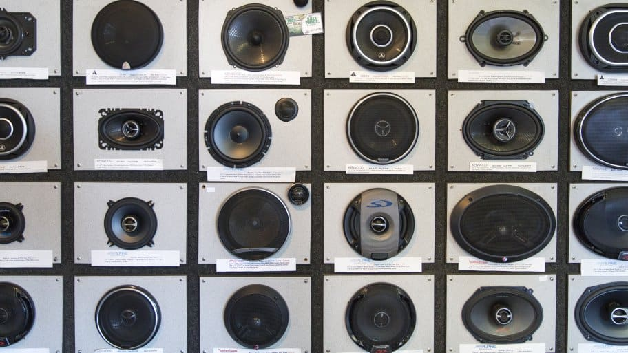 car speakers (Photo by Eldon Lindsay)