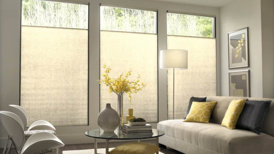 How to clean cellular shades angie 39 s list for Simple window treatments for large windows