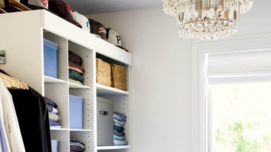 How To Install A Closet Organizer