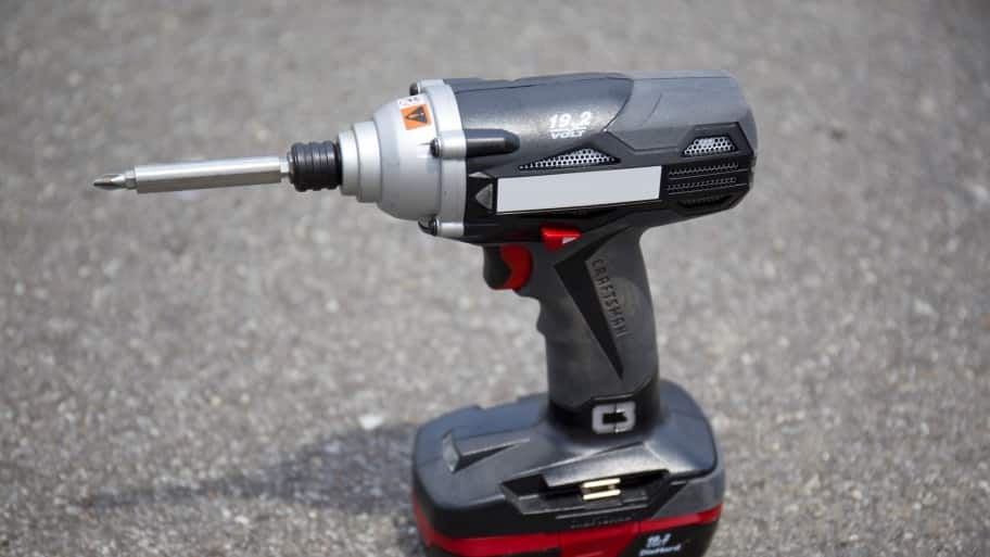 Cordless 18-volt drill for DIY remodeling projects